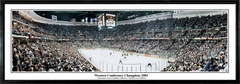 Anaheim Ducks Western Conference Champions 2003 - Stanley Cup Game 6 Panoramic Photo
