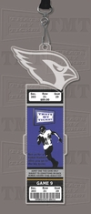 Arizona Cardinals Engraved Ticket Holder