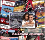 Arizona Diamondbacks 8 x 8 Ticket & Photo Album Scrapbook