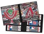 Arizona Diamondbacks Ticket Album