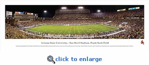 Arizona State University 40x13.5 Panoramic Photo