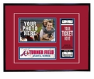 Atlanta Braves 4x6 Photo and Ticket Frame