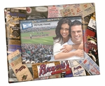 Atlanta Braves 4x6 Picture Frame - Ticket Collage Design