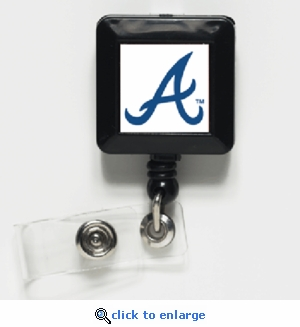 Atlanta Braves Retractable Ticket Badge Holder
