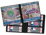 Atlanta Braves Ticket Album