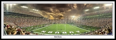 Auburn Tigers End Zone - Jordan Hare Stadium (1995) vs. Alabama Panoramic Photo