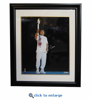 Autographed Muhammad Ali 20X24 Framed Photo