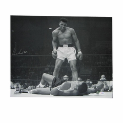 "Autographed Muhammed Ali 16X20 ""Sonny Liston"" Photo"
