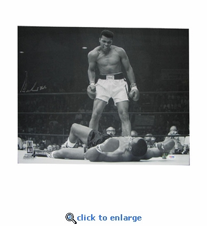 Autographed Muhammed Ali 16X20