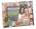 Baltimore Orioles Padded Front 4x6 Picture Frame - Ticket Collage Design