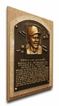 Baseball HOF Player Plaques on Canvas
