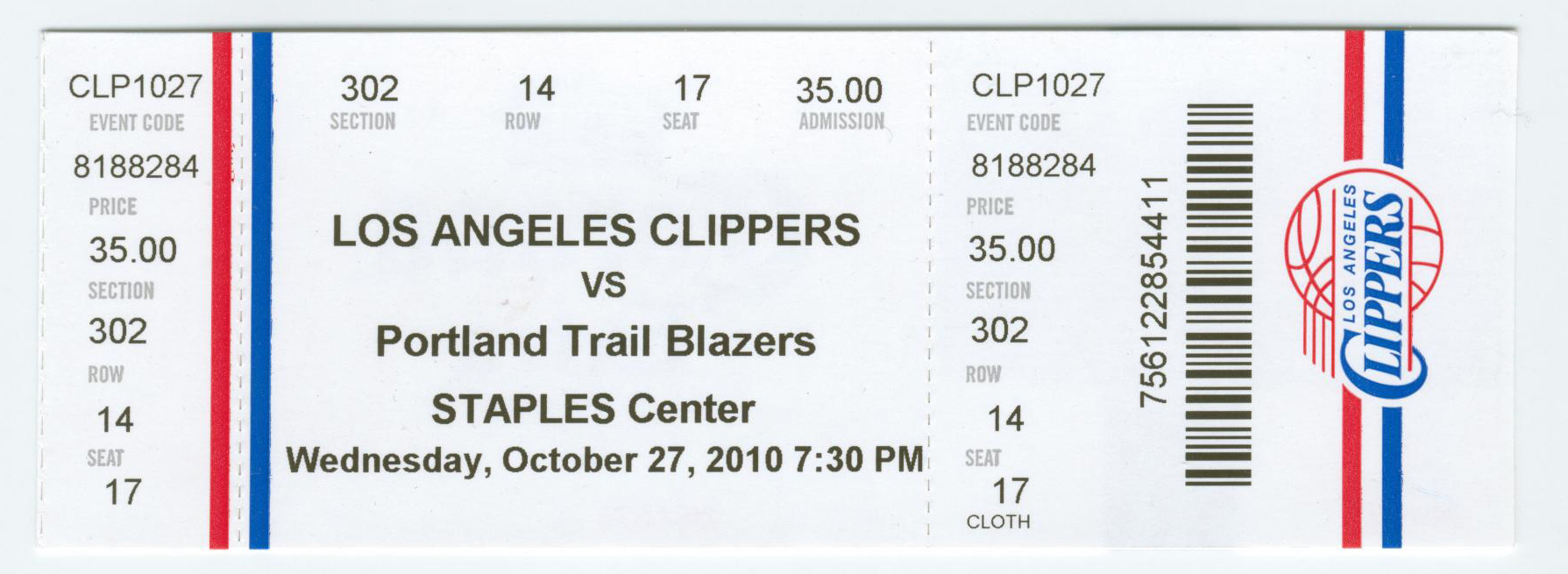 Ticket Clippers la Clippers Tickets