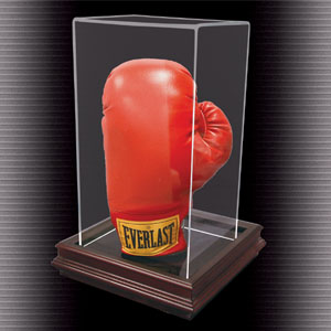 Boardroom Base Stand Up Boxing Glove Display Case