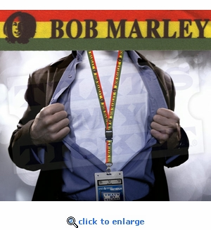 Bob Marley Lanyard Key Chain with Ticket Holder