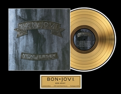 Bon Jovi - New Jersey Framed Gold Record, LE 2,500