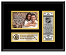 Boston Bruins 4x6 Photo and Ticket Frame