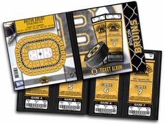 Boston Bruins Ticket Album