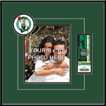 Boston Celtics 8x10 Photo and Ticket Frame