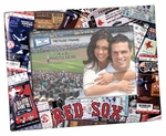 Boston Red Sox 4x6 Picture Frame - Ticket Collage Design