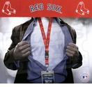 Boston Red Sox MLB Lanyard Key Chain and Ticket Holder - Red