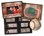 Boston Red Sox Ticket Album w/Photo Cover