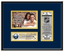 Buffalo Sabres 4x6 Photo and Ticket Frame