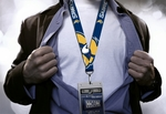 Buffalo Sabres Monster Logo Lanyard with NHL Ticket Holder