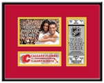 Calgary Flames 4x6 Photo and Ticket Frame