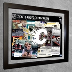 Calgary Flames Ticket & Photo Collage Frame
