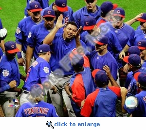 Carlos Zambrano 2008 No-Hitter 8x10 Photo