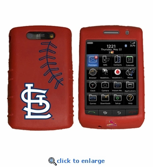 Cashmere Silicone Blackberry Storm Case - St.�Louis Cardinals