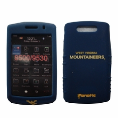 Cashmere Silicone Blackberry Storm Case - West Virginia University