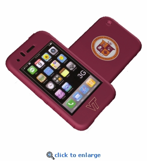 Cashmere Silicone Iphone 3G Case - Virginia Tech