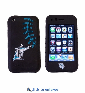 Cashmere Silicone Ipod Touch 2G Case - Florida Marlins