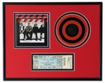 CD Ticket Frame