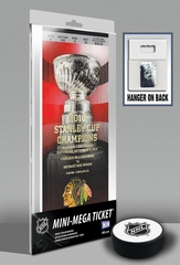 Chicago Blackhawks 2010 Stanley Cup Championship Banner Raising Mini-Mega Ticket