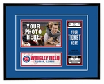 Chicago Cubs 4x6 Photo and Ticket Frame
