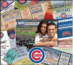 Chicago Cubs 8 x 8 Ticket & Photo Album Scrapbook