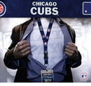 Chicago Cubs MLB Lanyard Key Chain and Ticket Holder - Navy
