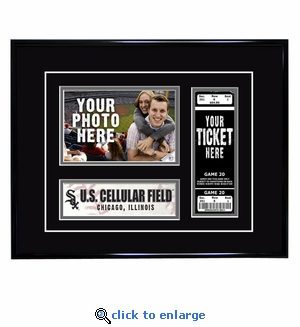Chicago White Sox 4x6 Photo and Ticket Frame