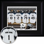 Chicago White Sox Personalized Locker Room Print