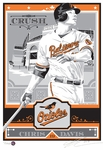 Chris Davis Handmade LE Sports Propaganda Screen Print - Baltimore Orioles