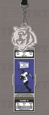 Cincinnati Bengals Engraved Ticket Holder