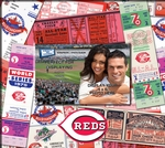 Cincinnati Reds 8 x 8 Ticket & Photo Album Scrapbook