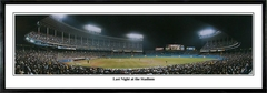 Cleveland Indians Last Night at The Stadium - Old Municipal (10/1/93) Panoramic Photo