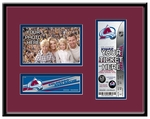 Colorado Avalanche 4x6 Photo and Ticket Frame