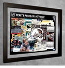 Colorado Avalanche Ticket & Photo Collage Frame