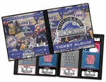 Colorado Rockies Ticket Album