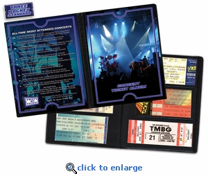 Concert Ticket Album - Rock Cover