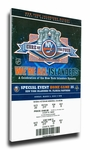 Core of the Four New York Islanders 25th Anniversary Canvas Mega Ticket
